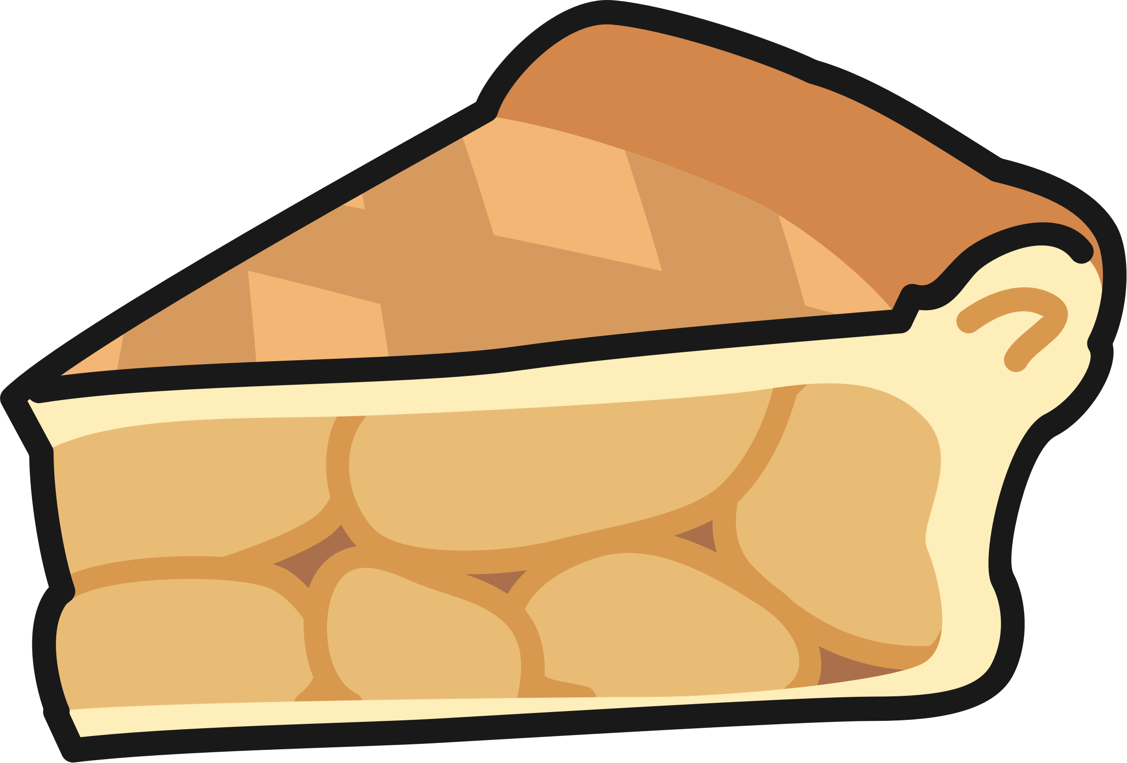 Cartoon pie png. Slice of apple icons