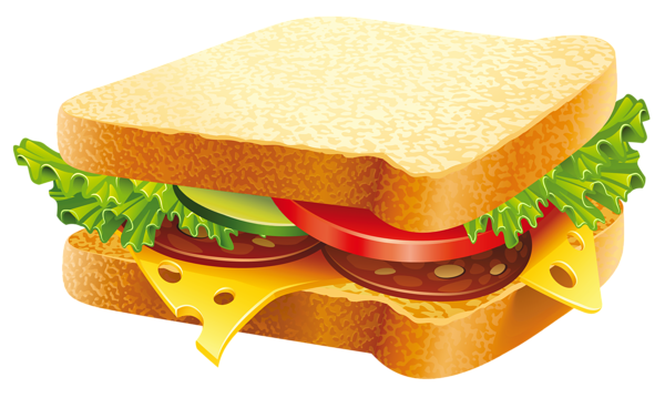 vector sandwich processed food