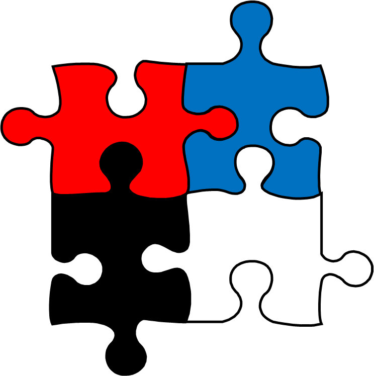 Pieces clipart. Free jigsaw puzzle download