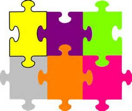Puzzle clipart puzzle piece. Animated pieces pencil and