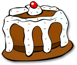 Pieces clipart chocolate tart. Cake at getdrawings com