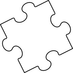 Puzzle clipart puzzle piece. Printable pieces template best