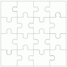 Pieces clipart puzzle time. Free printable paper craft