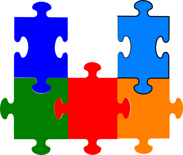 Pieces clipart puzzle time. Jigsaw clip art at