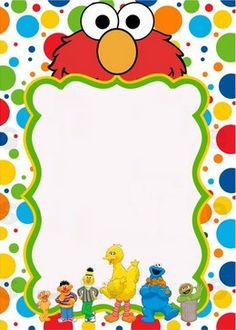 Pieces clipart sesame street. Characters head by parteestry