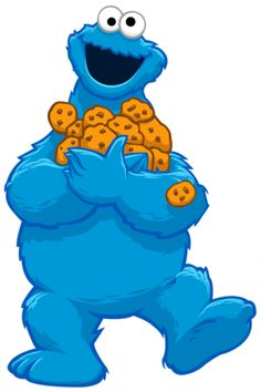 Pieces clipart sesame street. Wishes everyone a happy