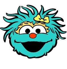 Pieces clipart sesame street. Character pics google search