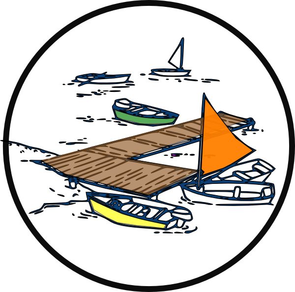 Pier vector boat dock. Clipart pencil and in