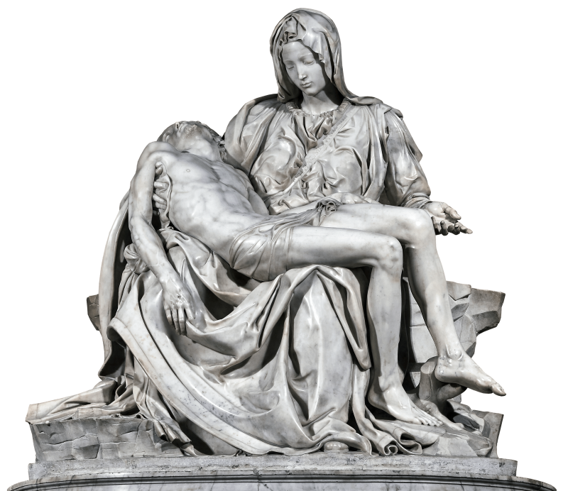 Pieta drawing michelangelo. Biography and artworks trivium