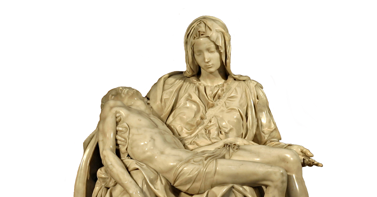 Pieta drawing michelangelo. Estudio barbour atelier james