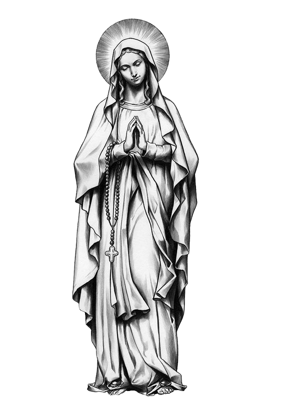 Pieta drawing tattoo. Mother mary pinterest and