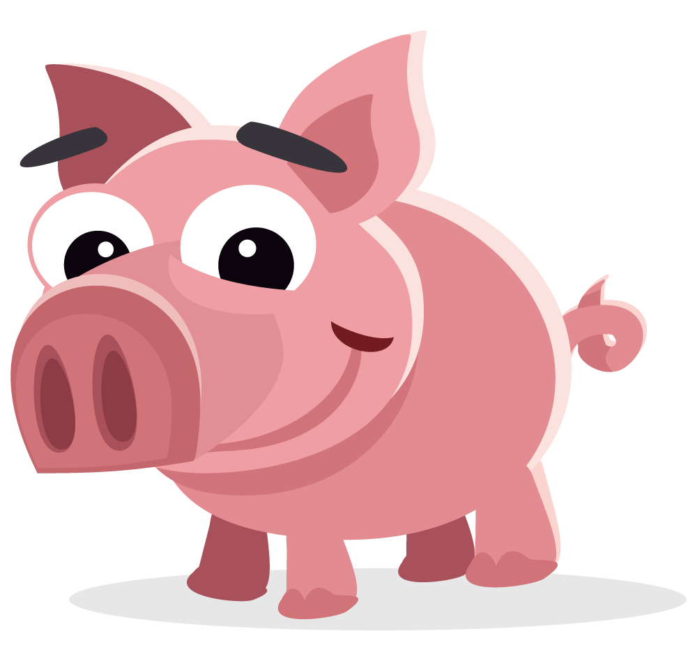 Pig clip art. Free to use public