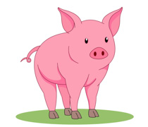 Hog clipart pink thing. Search results for pig