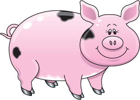 Pig clip art. Cute cartoon google search