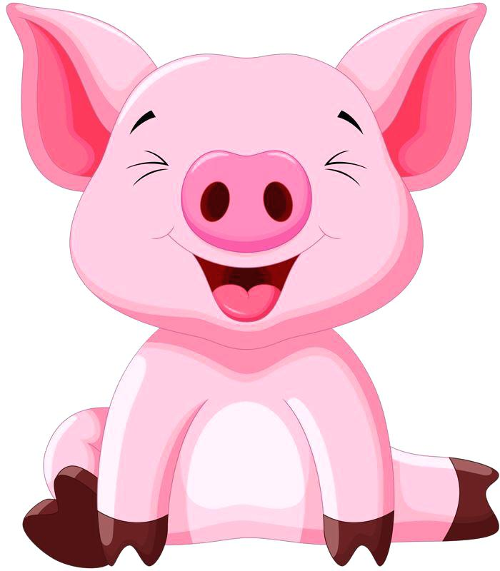 Pig clip art baby pig. Free peppa cartoons as