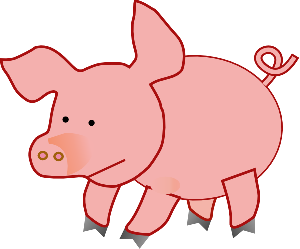 Dinosaur clipart fat. Baby pig download