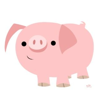 Pig clip art cute. Mice pic pigs oink
