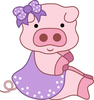 Pig clip art cute. Best images on