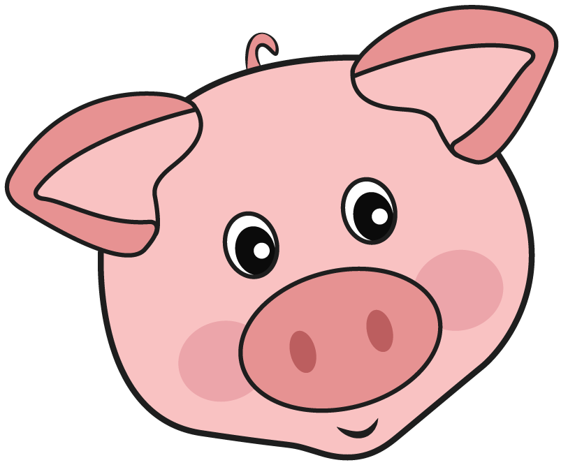 Pig clip art female pig. Mini teacup pigs for
