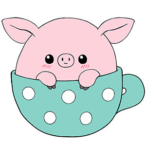 Squishable com teacup an. Pig clip art mini pig svg royalty free stock