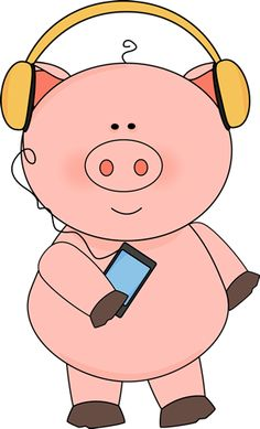Pig clip art piglet. Free from mycutegraphics com