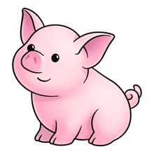 Pig clip art piglet. Lots of on this