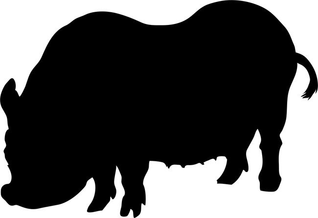 Pig clip art silhouette. At getdrawings com free