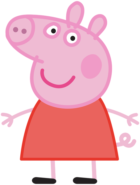 Pig clip art transparent background. Peppa png image gallery