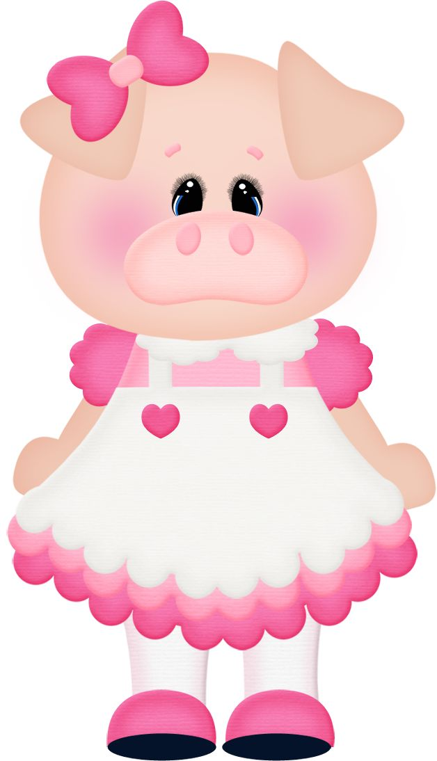 Pig clipart female pig. Best three little