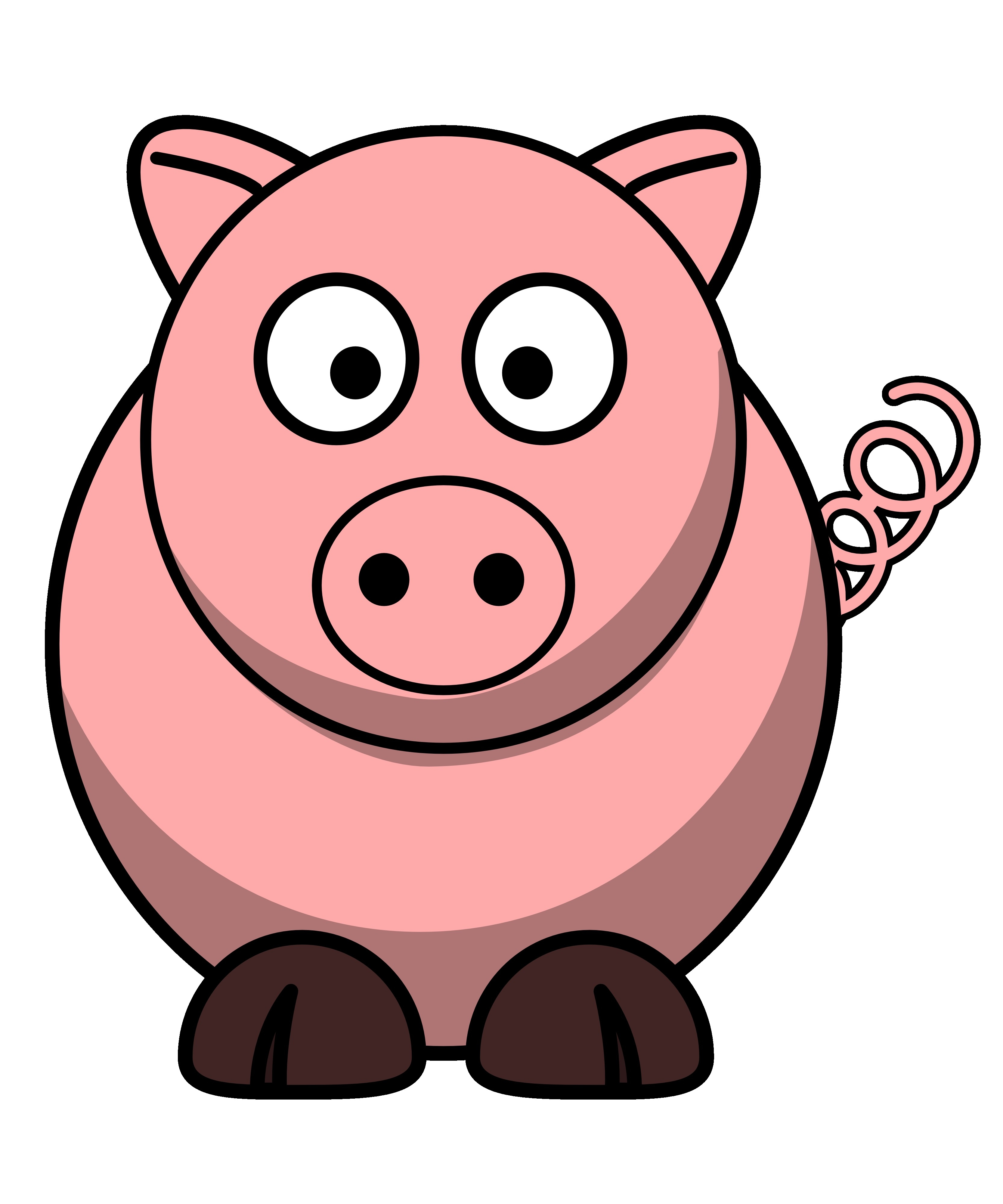 Pigs clipart simple. New gallery digital collection
