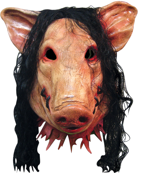 Saw pig mask png. Psd official psds share
