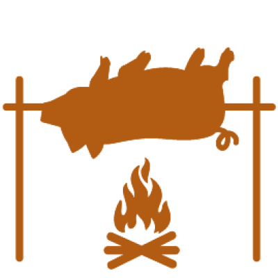 Pig roast png. Transparent roastpng images dlpng