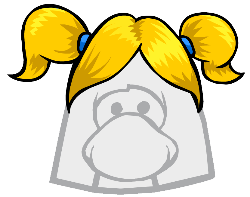 Pig tails png. The funster club penguin