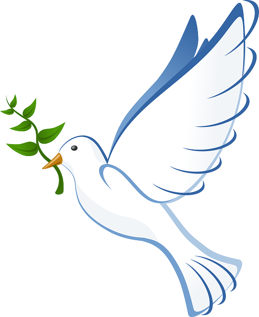 Free image on pixabay. Vector doves cross clip art free download