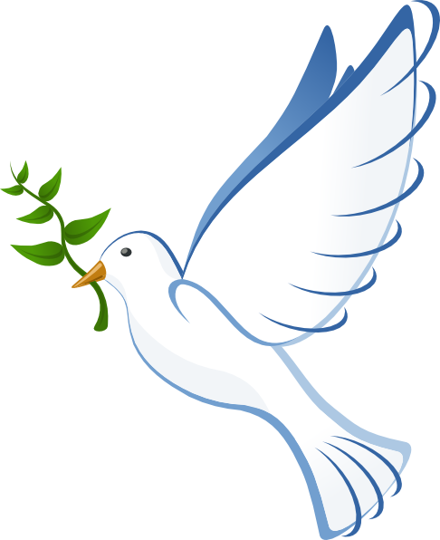 Pigeon clipart small dove. Of peace clip art
