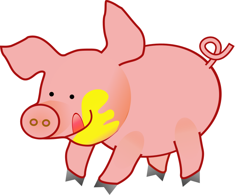 Piggy clipart aniaml. Pig animal pictures royalty