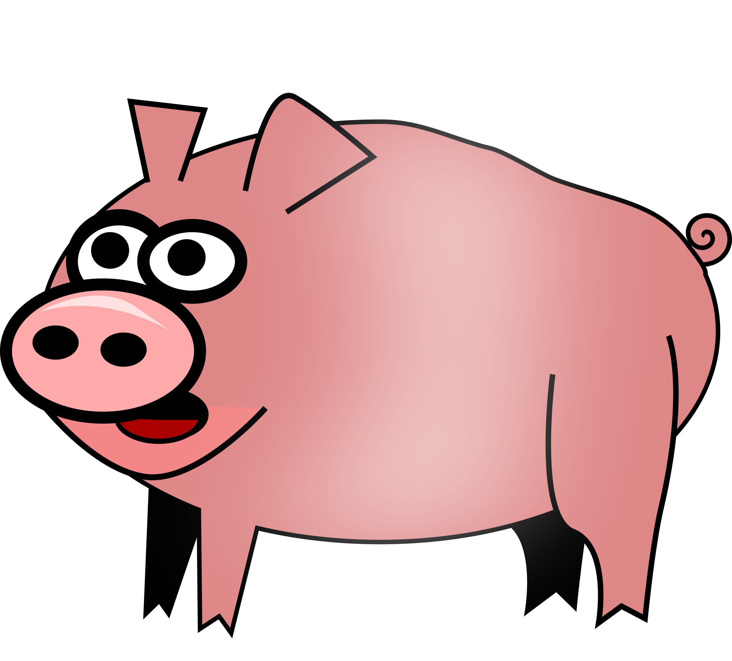 Of pig typegoodies me. Piggy clipart svg banner royalty free