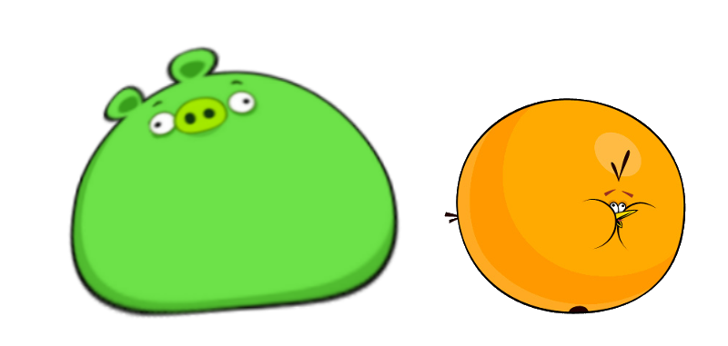 Pigs clipart overweight. Category fat pig angry