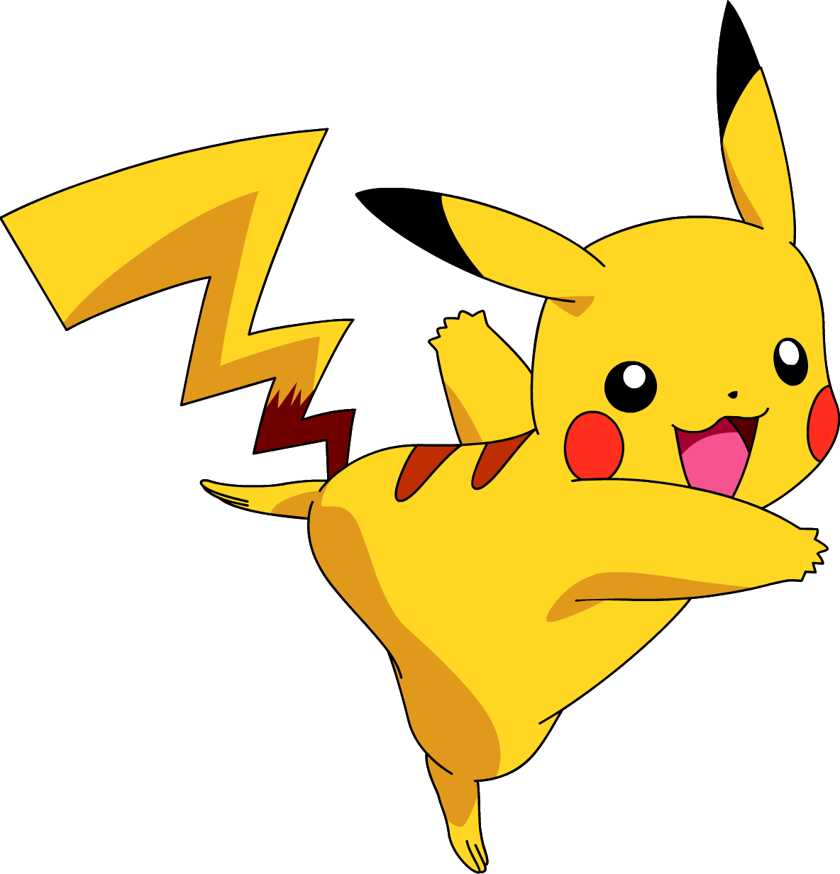 Pikachu clipart high resolution. Pokemon png images transparent