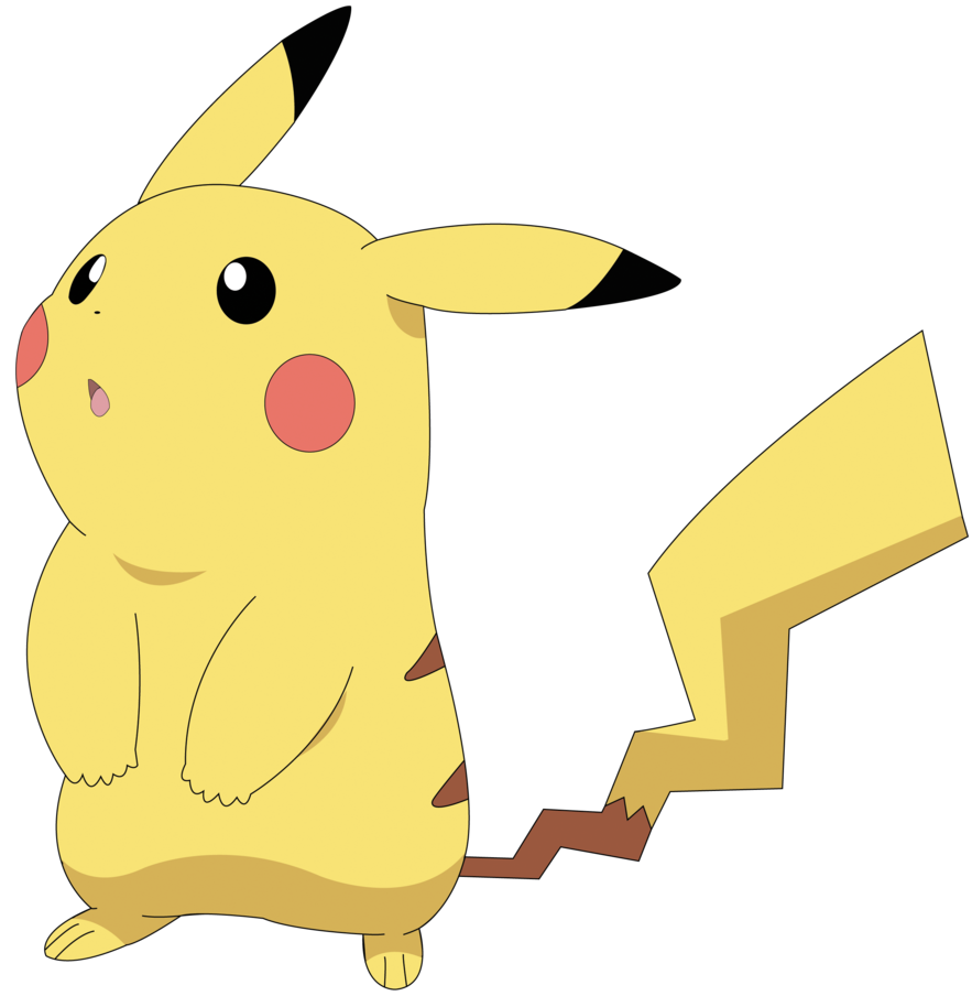 Lightning svg pikachu