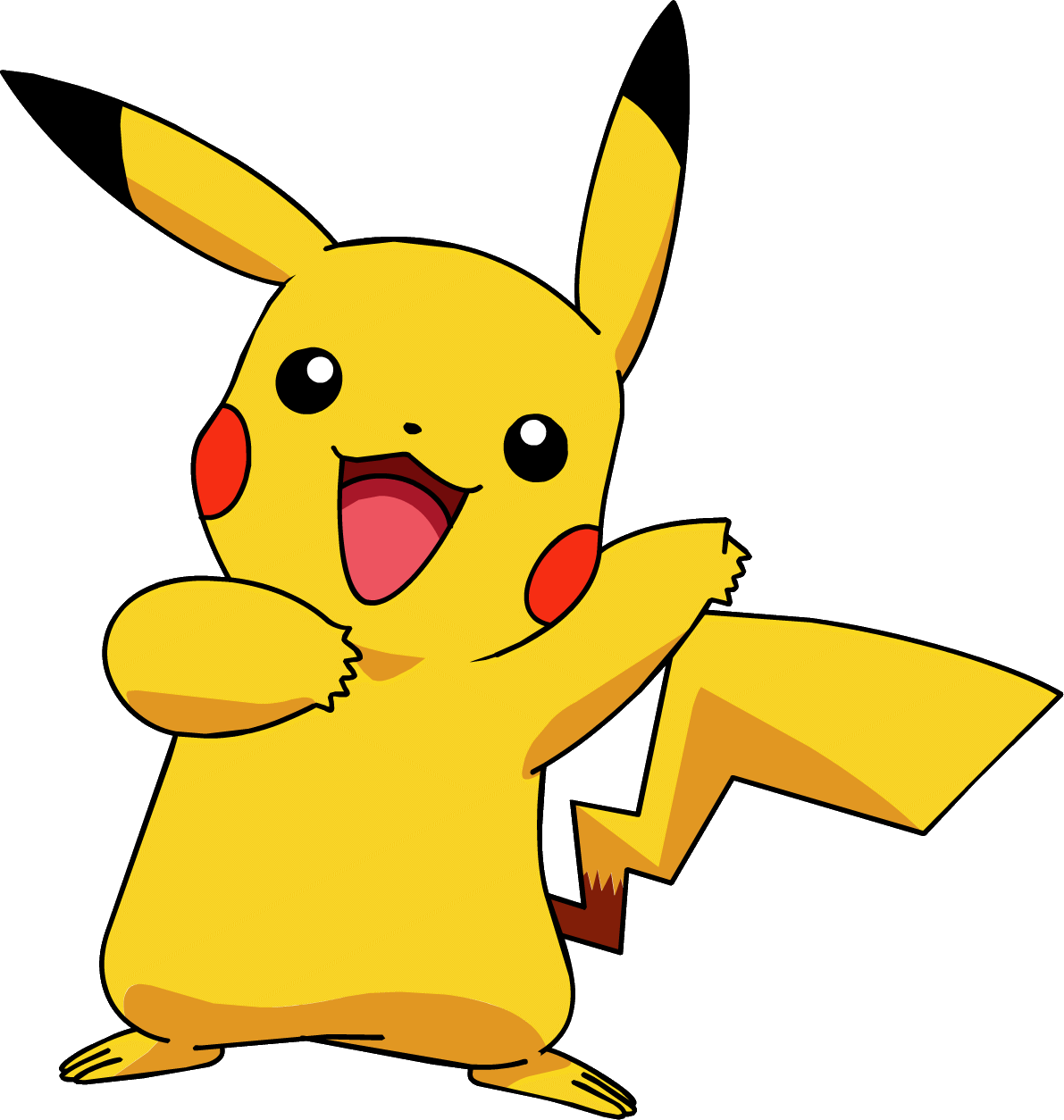 Pokemon pikachu png. Collection of clipart