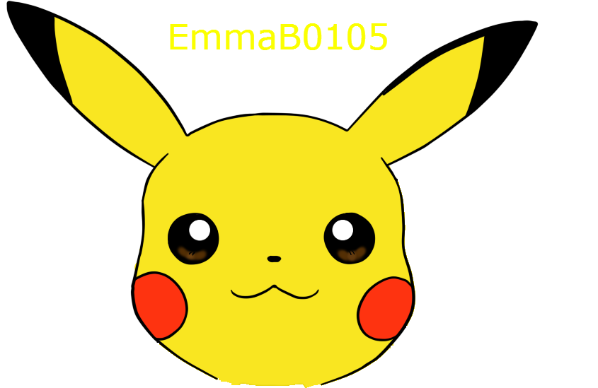 Pikachu head png. Avatar by emmab on