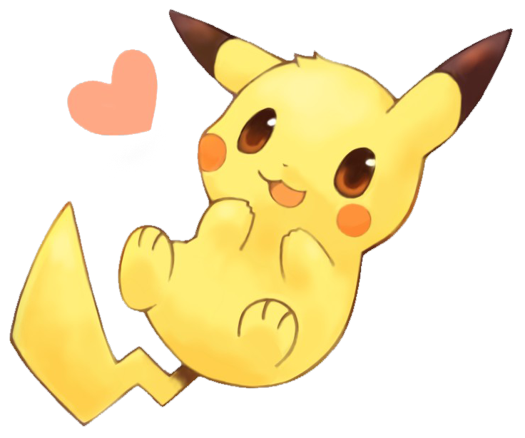 Pikachu png. By isa on deviantart