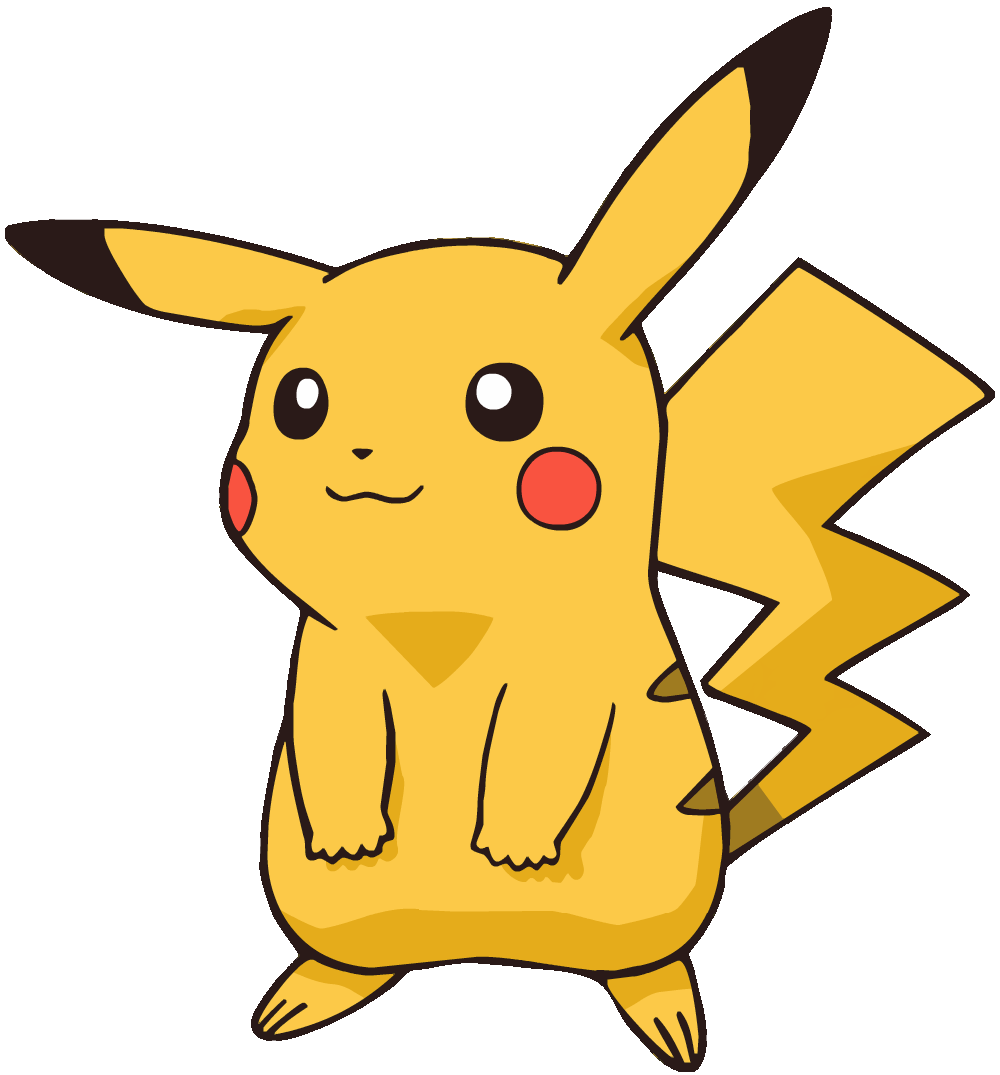 Pikachu png. Images transparent free download