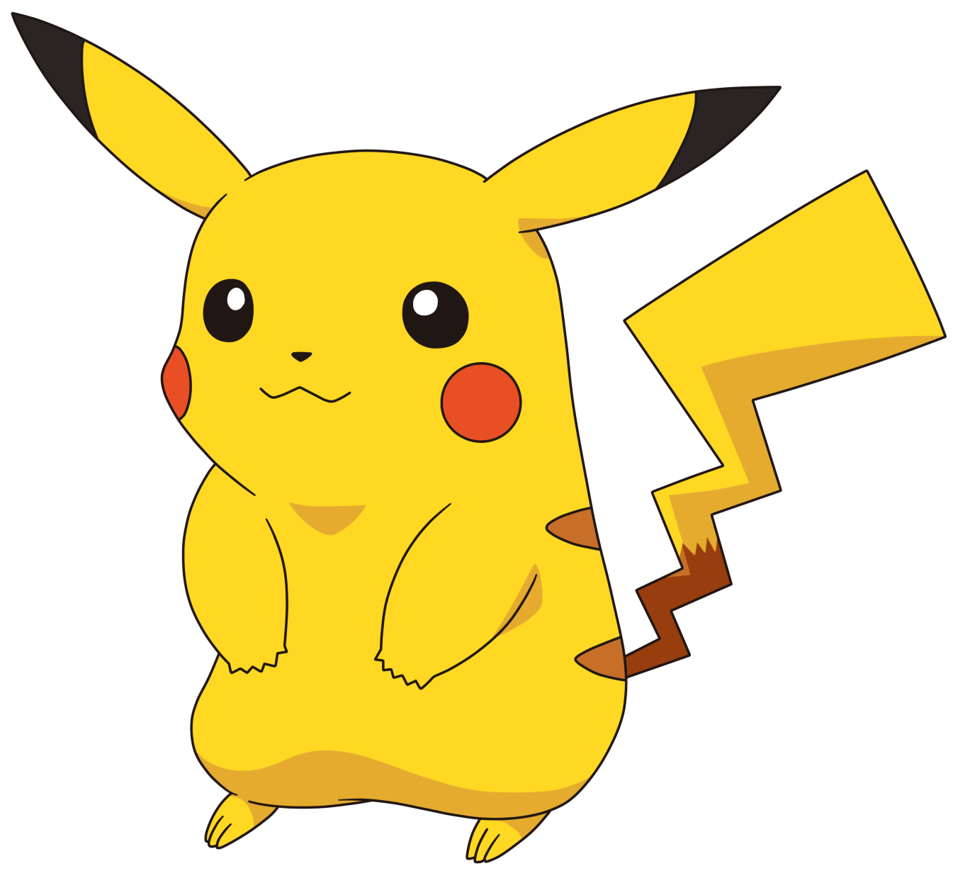 Pikachu pokemon go png. Male by tzblacktd