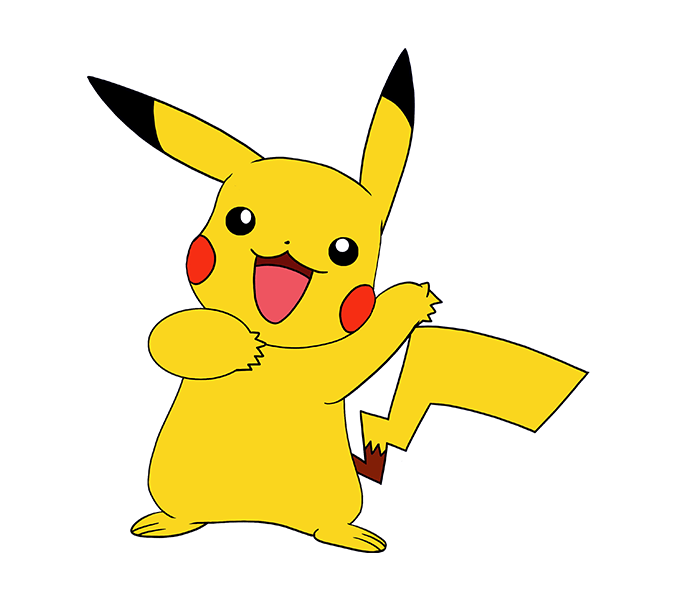 Pikachu pokemon go png. Drawing at getdrawings com