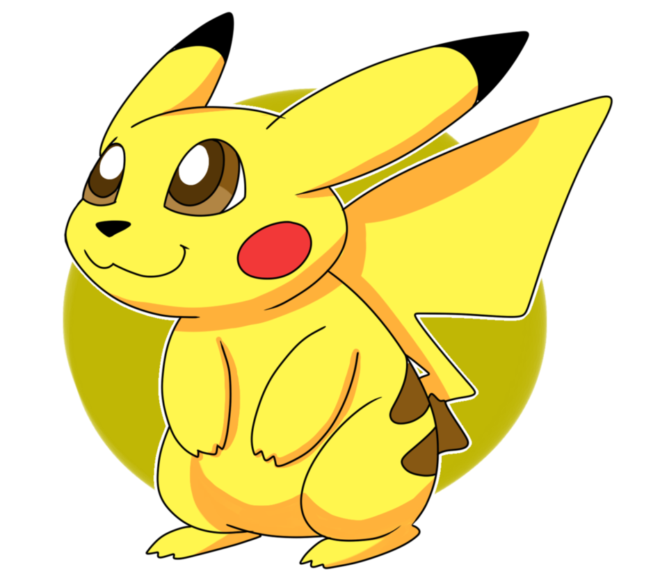 Pikachu pokemon go png. Starter by washumow on