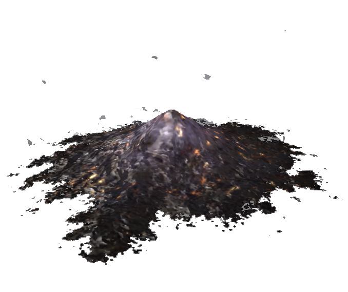 pile of ashes png