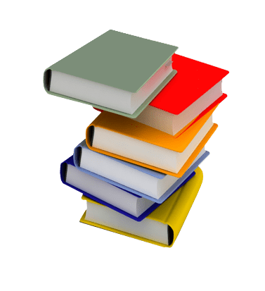 Pile of books png. Transparent image background