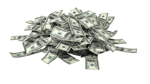 Pile of money png. Your cash ptc earn